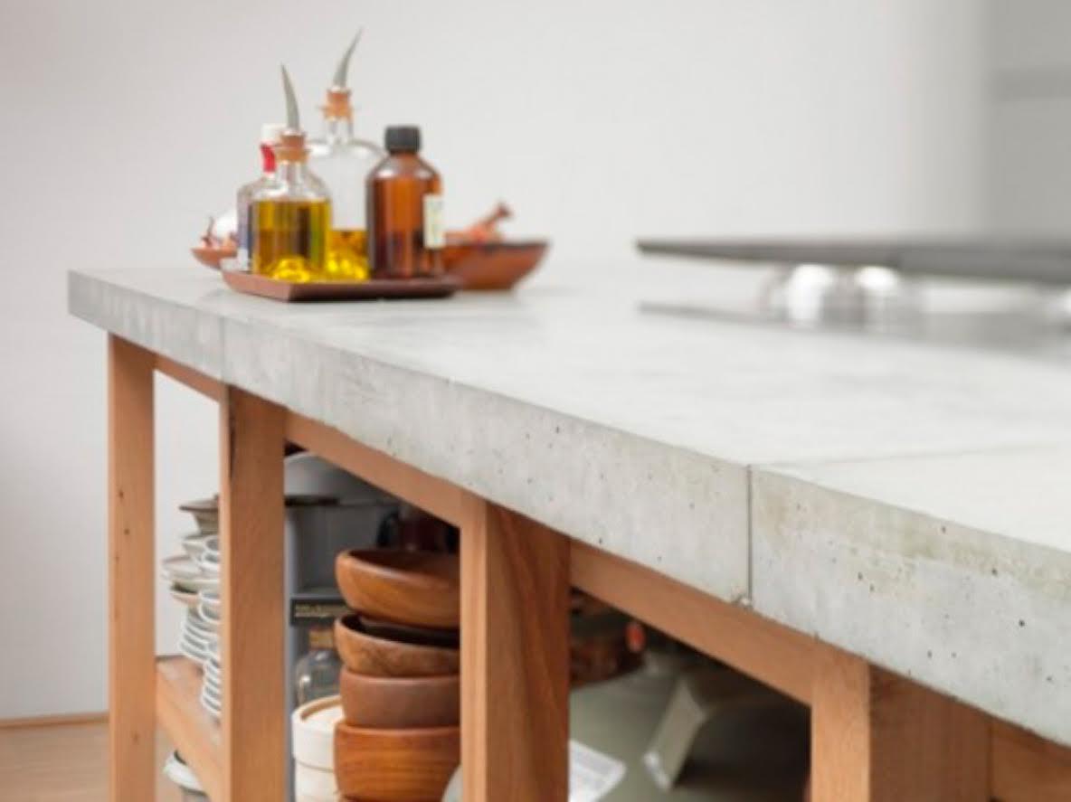 las encimeras se realizaban en materiales utilizados para la construccin de la vivienda de ah las cocinas con encimeras de baldosa cermica