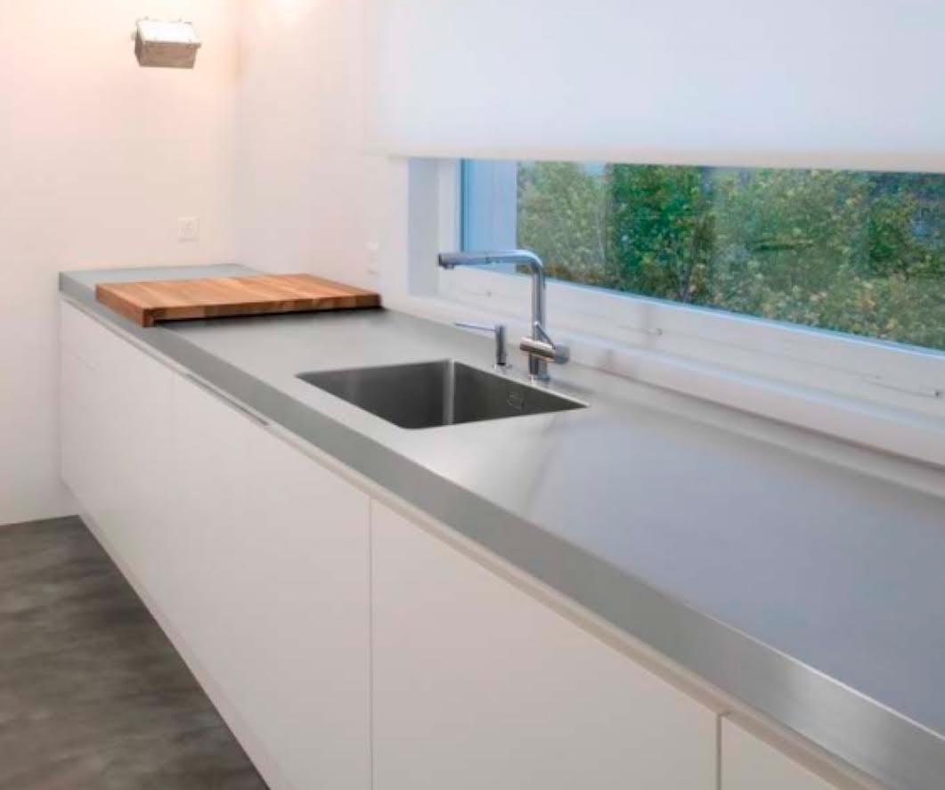 Uno de los elementos fundamentales de la cocina: la encimera. |